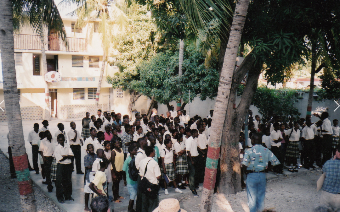 How one Brown alumnus is increasing access to education in Haiti