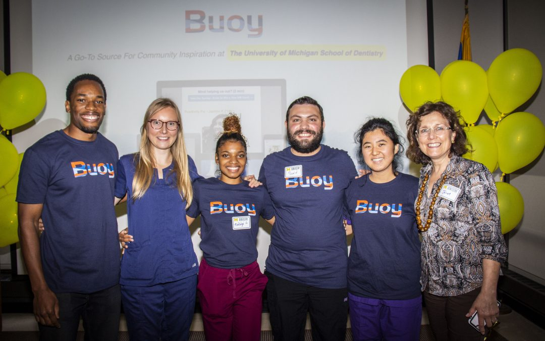 Jordan Evans '14, Founder of Buoy expands to The University of Michigan