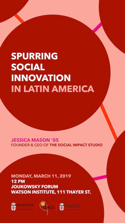 Spurring Social Innovation In Latin America Nelson Center For Entrepreneurship