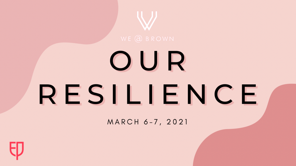 2021 WE@Brown Conference and Pitch Competition